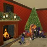 christmas cub cute equine female friendship_is_magic fur group hair hi_res holidays horse male mammal my_little_pony pony princess_luna_(mlp) young  Rating: Safe Score: 9 User: DracoAzule Date: December 25, 2014