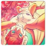 2014 aerys anthro bat fur green_eyes hair hanging looking_at_viewer male mammal nipples penis red_hair seaside_(artist) smile solo tree   Rating: Explicit  Score: 11  User: rix_traier  Date: June 03, 2014