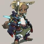 blonde_hair brown_fur clothing female flat_chested fur hair kemono lagomorph mammal mecha rabbit unknown_artist yellow_eyes   Rating: Questionable  Score: 0  User: KemonoLover96  Date: March 30, 2015