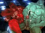2013 abs after_masturbation alien amber_eyes anthro balls ben_10 biceps big_muscles big_penis blue_body blue_nipples blue_penis blush clenched_teeth cum cum_on_balls cum_on_chest cum_on_hand cum_on_penis cum_on_self cum_on_stomach cumshot diamond diamondhead dripping duo erection four_arms_(ben_10) hand_on_penis humanoid humanoid_penis lying male male/male masturbation messy multi_limb multimedia_(artist) muscles nipples nude on_back orgasm pecs penis red_nipples red_penis red_skin scales sitting spread_legs spreading teeth thick_penis toned vein veiny_penis   Rating: Explicit  Score: 11  User: oreoslicks  Date: September 13, 2014