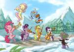 absurd_res applejack_(mlp) bassoon blonde_hair blue_eyes blue_fur cello cowboy_hat cutie_mark dragon earth_pony equine eyes_closed female flute fluttershy_(mlp) flying freckles friendship_is_magic fur green_eyes group hair hat hi_res horn horse horse_tail kettle_drum male mammal mountain mrs1989 multicolored_hair musical_instrument my_little_pony one_eye_closed open_mouth orange_fur outside pegasus pink_fur pink_hair pinkie_pie_(mlp) pony purple_eyes purple_fur purple_hair rainbow_dash_(mlp) rainbow_hair rarity_(mlp) scalie smile snow spike_(mlp) tree trumpet twilight_sparkle_(mlp) unicorn violin wand white_fur wig winged_unicorn wings yellow_fur  Rating: Safe Score: 14 User: Nyteshade Date: March 26, 2014""