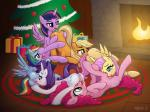 2014 anus applejack_(mlp) ass_up blonde_hair blue_eyes blue_fur butt butt_grab carpet christmas christmas_tree cunnilingus cutie_mark daisy_chain earth_pony equine eyeshadow female female/female feral fire fluttershy_(mlp) friendship_is_magic fur gift green_eyes group group_sex hair half-closed_eyes hand_on_butt hearth holidays horn horse inside log lying makeup mammal multicolored_hair my_little_pony on_back on_side open_mouth oral orange_fur pegasus pink_fur pink_hair pinkie_pie_(mlp) pony puffy_anus purple_eyes purple_fur purple_hair pussy pussy_juice rainbow_dash_(mlp) rainbow_hair rarity_(mlp) sex shaded shadow syoee_b tongue tongue_out tree twilight_sparkle_(mlp) unicorn vaginal white_fur wing_boner winged_unicorn wings wood yellow_fur  Rating: Explicit Score: 30 User: Jatix Date: December 23, 2014