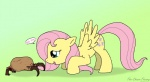 blue_eyes cutie_mark dialogue english_text equine female feral fluttershy_(mlp) friendship_is_magic fur hair half-life headcrab long_hair mammal my_little_pony open_mouth pegasus pink_hair plain_background text the-chaos-theory valve video_games wings yellow_fur  Rating: Safe Score: 5 User: Ohnine Date: August 15, 2011""