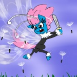 2014 angry arthropod breezie cloud dandelion fight flying friendship_is_magic fur grass hair ichibangravity insect male my_little_pony outside pink_hair red_eyes seabreeze_(mlp) sky sword weapon wings   Rating: Safe  Score: 5  User: 2DUK  Date: March 02, 2014