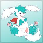 2017 4_toes blitzpitz blue_background cum cum_on_feet cum_string fan_character feet feral foot_fetish hi_res legendary_pokémon male nintendo pawpads penis pokémon red_eyes shaymin shaymin_(sky_form) signature simple_background sitting smile solo toes video_gamesRating: ExplicitScore: 8User: BlitzPitzDate: August 05, 2017