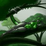 big_breasts breasts female kobraa looking_at_viewer naga nude pinup pose pussy reptile scalie snake solo tree   Rating: Explicit  Score: 14  User: ippiki_ookami  Date: March 18, 2015