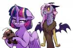 2016 <3 belly_rub blush daughter draconequus equine eyewear fan_character female feral friendship_is_magic glasses grandson horn jealous lopoddity male mammal mother mother_and_daughter my_little_pony pandora_(lopoddity) parent purring story story_in_description twilight_sparkle_(mlp) winged_unicorn wings  Rating: Safe Score: 5 User: 2DUK Date: April 30, 2016