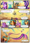 2018 comic dialogue english_text equine female friendship_is_magic glowing horn light262 mammal my_little_pony portal princess_tempora text twilight_sparkle_(mlp) winged_unicorn wings