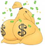 absurd_res ambiguous_gender big_butt butt digital_media_(artwork) hi_res huztar inanimate living_money money sack solo what what_has_science_done  Rating: Questionable Score: 16 User: Jookyloops Date: June 12, 2015