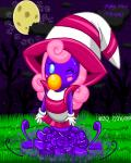2009 blue_eyes blush bowser2queen english_text female hair hat mario_bros moon nintendo one_eye_closed paper_mario pink_hair solo text video_games vivian witch_hat young   Rating: Safe  Score: 1  User: Juni221  Date: June 08, 2014