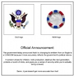 avian condom eagle logo patriotic plain_background stars_and_stripes the_truth united_states_of_america unknown_artist white_background   Rating: Safe  Score: 11  User: JustFrame  Date: January 27, 2011