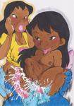 abdominal_bulge alien dark_skin disney duo_focus female group human lilo lilo_and_stitch male male/female mammal multi_penis nightmare_fuel on_top penis reverse_cowgirl_position sex stitch sweat young はやかわ   Rating: Explicit  Score: 2  User: shimrod  Date: December 29, 2014