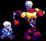 animated bone digital_media_(artwork) papyrus_(undertale) pixel_(artwork) sans_(undertale) skeleton undertale video_games walking  Rating: Safe Score: 26 User: Pixl2Pixl Date: November 23, 2015