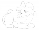 2014 ambiguous_gender andya dragon goodra looking_at_viewer lying nintendo plain_background pokémon sketch slug two_toes video_games white_background   Rating: Safe  Score: 0  User: Finchmaster  Date: February 21, 2014