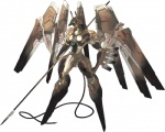 ambiguous_gender anthro anubian_jackal anubis canine deity hi_res jackal machine mammal mecha melee_weapon polearm red_eyes robot simple_background spear weapon white_background wings zone_of_the_enders  Rating: Safe Score: 13 User: LordAshnard Date: January 06, 2013