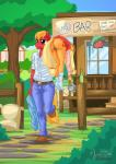 2015 anthro anthrofied applejack_(mlp) big_macintosh_(mlp) blonde_hair bottle bottomless brother brother_and_sister butt carrying clothed clothing cutie_mark drunk duo earth_pony english_text equine female fence friendship_is_magic glass hair half-dressed holding horse long_hair male male/female mammal my_little_pony mysticalpha outside plant pony pussy sibling sister smile socks text tree window   Rating: Explicit  Score: 24  User: lemongrab  Date: March 09, 2015