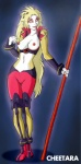 breasts cheetara feline female midriff perky polearm solo staff thundercats unknown_artist weapon   Rating: Questionable  Score: 8  User: Ratty  Date: April 29, 2011