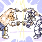 armor_king duo fupoo fusion_dance king_(tekken) male namco_bandai tekken  Rating: Safe Score: 4 User: drafan5 Date: July 28, 2013""