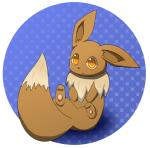 """eevee looking_at_viewer nintendo pawpads paws pokémon simple_background sitting video_games しろくろいの  Rating: Safe Score: 0 User: Raria Date: July 06, 2015"""""""