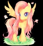 2016 arthropod butterfly equine female feral fluttershy_(mlp) friendship_is_magic grass hair insect long_hair mammal my_little_pony pegasus pink_hair smile solo standing wings yoclesh  Rating: Safe Score: 13 User: Egekilde Date: February 12, 2016