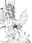 """anthro canine cunnilingus duo female female/female mammal oral sex traditional_media_(artwork) trixy-the-spiderfox vaginal  Rating: Explicit Score: 3 User: maiatherne Date: June 11, 2014"""""""
