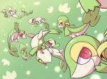 ambiguous_gender blush cute eyes_closed feral green_background group leaf nettsuu nintendo open_mouth pokémon red_eyes simple_background snivy spread_legs spreading video_gamesRating: SafeScore: 2User: JasperinityDate: March 26, 2017