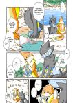 blue_eyes comic eating fish floatzel forest kemono luxray marine nintendo outside pokémon translated tree unknown_artist video_games water yellow_eyes   Rating: Safe  Score: 1  User: KemonoLover96  Date: March 27, 2015