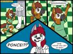 canine comic cub dog duo english_text equine green_eyes hair horse husky kammypup kammypup_(artist) mammal ponce red_hair spanish speech_bubble text young  Rating: Safe Score: 1 User: Chikita Date: January 24, 2016