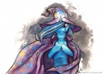 2015 blue_skin cloak equine female feral friendship_is_magic gem horn kenket looking_at_viewer magic magic_user mammal my_little_pony plain_background purple_eyes solo standing star trixie_(mlp) unicorn white_background wizard_hat   Rating: Safe  Score: 2  User: TheGreatWolfgang  Date: March 29, 2015