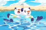 ambiguous_gender anthro beach beach_ball canadian_flag cloud cute eyes_closed happy mammal mustelid nintendo one_eye_closed open_mouth oshawott otter outside partially_submerged pokémon sand seashell seaside shell sky super-tuler video_games volley_ball_net water   Rating: Safe  Score: 13  User: Luminocity  Date: November 29, 2013