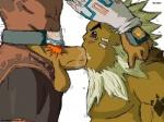 cum darunia duo fellatio ganondorf gerudo goron hair male male/male nintendo oral sex sheik! tattoo the_legend_of_zelda video_games   Rating: Explicit  Score: 2  User: jm73  Date: May 22, 2015