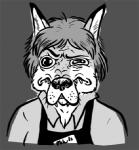 apron canine clothing fox mammal reaction_image shirt sickeleye solo  Rating: Safe Score: -1 User: tartcore Date: July 29, 2015