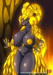 2018 absurd_res anthro areola breasts capcom digital_media_(artwork) elder_dragon female hi_res kulve_taroth looking_at_viewer monster_hunter monster_hunter_world nipples pussy scalie solo suirano video_gamesRating: ExplicitScore: 26User: lemongrabDate: May 23, 2018