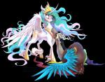 2015 alpha_channel blush discord_(mlp) draconequus duo equine female friendship_is_magic holidays horn hug male mammal my_little_pony princess_celestia_(mlp) stepandy winged_unicorn wings   Rating: Safe  Score: 13  User: Robinebra  Date: April 11, 2015