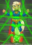 applejack_(mlp) bdsm bondage bound digital_media_(artwork) earth_pony equine female friendship_is_magic horse mammal my_little_pony pony smudge_proof solo superman supermare  Rating: Questionable Score: 0 User: Smudge_Proof Date: May 23, 2014