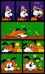 <3 avian beapeabear bird canine comic dog duck duck_hunt duck_hunt_dog duo english_text grass male mammal super_smash_bros tears text video_games   Rating: Safe  Score: 3  User: slyroon  Date: January 04, 2015