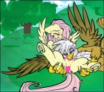 2012 avian blush censored duo equine female female/female feral fluttershy_(mlp) friendship_is_magic gilda_(mlp) gryphon interspecies licking mammal my_little_pony pegasus teats tongue tongue_out tree wings wood yellow_eyes zeriara  Rating: Explicit Score: 11 User: Falord Date: September 09, 2012