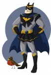avian batman batman_(series) bird clothed clothing crossdressing crossover duo feral feralized magical_girl_outfit male pose robin robin_(batman) sailor_moon_(series) simple_background standing wallabri what  Rating: Safe Score: 5 User: Genjar Date: November 03, 2014