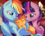 2015 cute equine female feral friendship_is_magic group hair hi_res horn mammal my_little_pony nobody47 pegasus rainbow_dash_(mlp) scootaloo_(mlp) smile twilight_sparkle_(mlp) winged_unicorn wings  Rating: Safe Score: 13 User: Robinebra Date: August 29, 2015