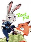 2016 anthro canine disney duo female fox judy_hopps lagomorph male mammal nick_wilde rabbit wa_(artist) zootopia トカゲ  Rating: Safe Score: 0 User: Vallizo Date: April 30, 2016