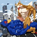 abs absurd_res anal anal_penetration anthro avian biceps big_muscles big_penis bird canine city cowgirl_position cum cum_in_ass cum_inside cum_on_chest cum_on_face cum_on_penis cum_while_penetrated cumshot duo excessive_cum falco_lombardi feathers fox fox_mccloud fur hi_res humanoid_penis interspecies leaking lying macro male male/male mammal messy metaball muscles nintendo nipples nude on_back on_top orgasm outside pecs penetration penis sex sitting star_fox straddling sweat thick_penis toned vein video_games   Rating: Explicit  Score: -5  User: dong2fm  Date: December 14, 2014