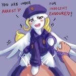 <3 bestiality blonde_hair blush clothing cowgirl_position cutie_mark duo equine feathered_wings feathers female feral friendship_is_magic fur hair handcuffs human human_on_feral interspecies legwear looking_at_viewer male male/female mammal my_little_pony nude on_top open_mouth pegasus penetration police police_hat police_uniform ponilove purple_eyes saliva sex shackles stockings straddling surprise_(pre-g4) teeth text tongue uniform vaginal vaginal_penetration white_fur wings  Rating: Explicit Score: 23 User: Raria Date: May 05, 2013