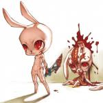 blade blood death duo gore hi_res lagomorph male mammal peeing rabbit urine 山藥人  Rating: Explicit Score: -3 User: israfell Date: February 01, 2016