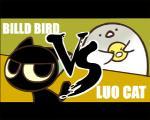 ambiguous_gender animated avian big_eyes bird cat cute death english_text feline fight forest humor mammal outside text tree 彼尔德billd 罗小黑   Rating: Safe  Score: 12  User: Hiatuss  Date: October 09, 2013