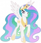 cutie_mark equine feathered_wings feathers female feral friendship_is_magic fur hair horn long_hair looking_at_viewer mammal multicolored_hair my_little_pony princess_celestia_(mlp) solo source_request white_fur winged_unicorn wings  Rating: Safe Score: 5 User: QuetzalcoatlColorado Date: March 23, 2016