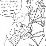 5_fingers age_difference asgore_dreemurr asriel_dreemurr ball_fondling balls beard black_and_white bottomless bound clothed clothing crown cub cyndiquill200 dialogue duo english_text erection facial_hair fondling hair incest licking male male/male monochrome navel nude open_mouth oral penis penis_lick sex speech_bubble sweater text tongue tongue_out uncut undertale video_games young  Rating: Explicit Score: 12 User: Atsushi Date: December 31, 2015