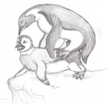 beak cloaca gay greyscale happy_feet male monochrome moodyferret mumble penguin sex   Rating: Explicit  Score: 3  User: Luminocity  Date: October 21, 2013
