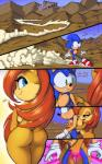 2014 anthro big_breasts breasts butt comic dialogue digital_media_(artwork) duo english_text female grope huge_breasts male nude sally_acorn side_boob sonic_(series) sonic_the_hedgehog text thefuckingdevil  Rating: Questionable Score: 35 User: Robinebra Date: August 04, 2014