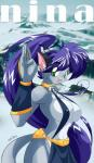anthro big_breasts blue_fur breasts cat chalo clothed clothing feline female fur green_eyes hair huge_breasts las_lindas mammal nina_(chalo) purple_hair smile   Rating: Questionable  Score: 8  User: qwertyzzz18c  Date: February 28, 2015