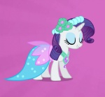 animated blue_eyes clothing dancing dress equine eyeshadow female feral flower friendship_is_magic fur happy horn makeup mammal my_little_pony plant rarity_(mlp) solo tomthewonderdog unicorn white_fur   Rating: Safe  Score: 11  User: 2DUK  Date: August 27, 2012